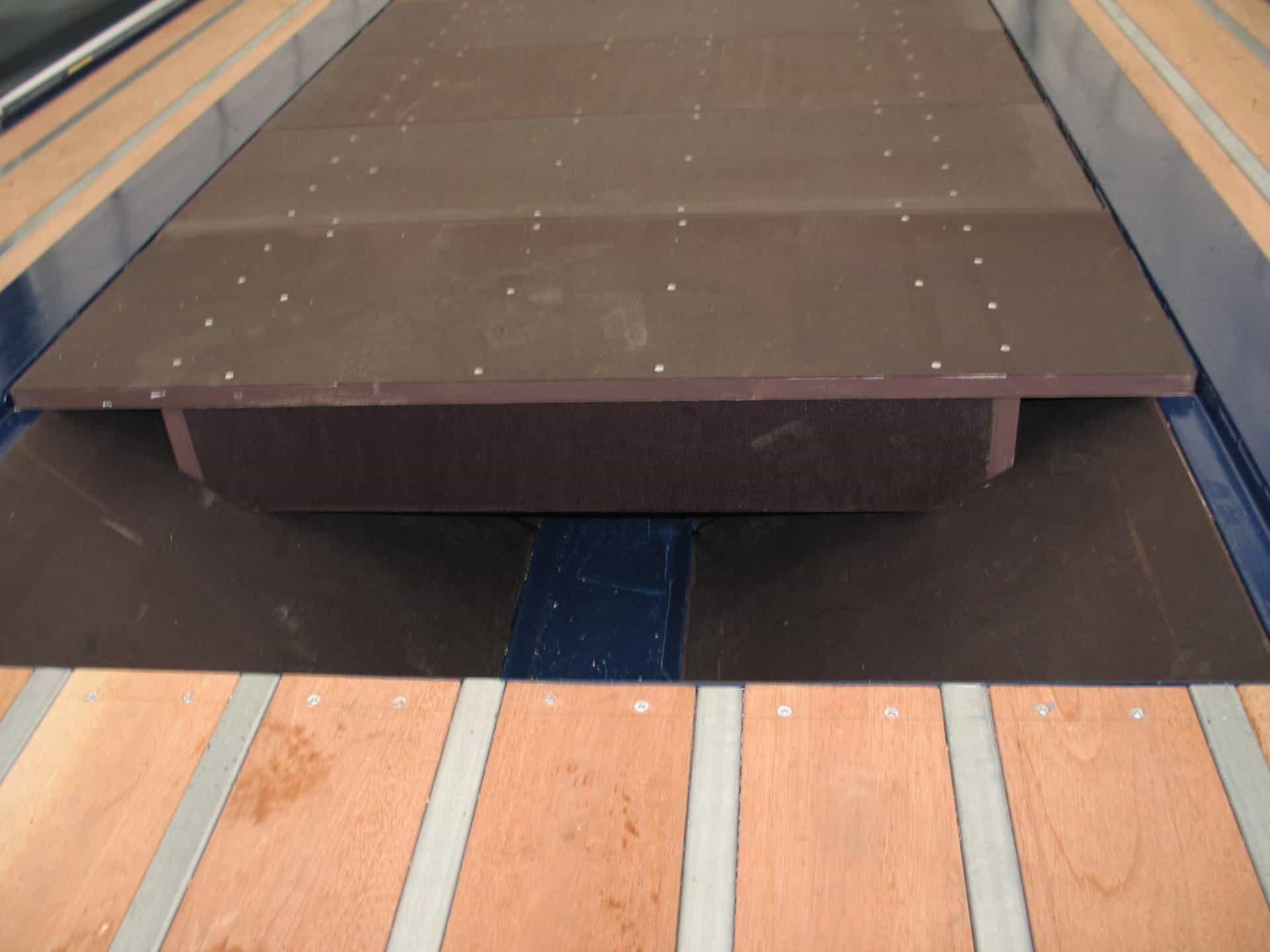 Coil trailer vloer