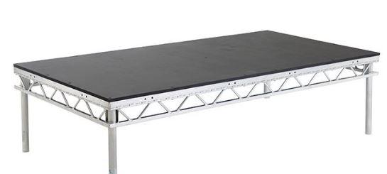 Stage deck platen